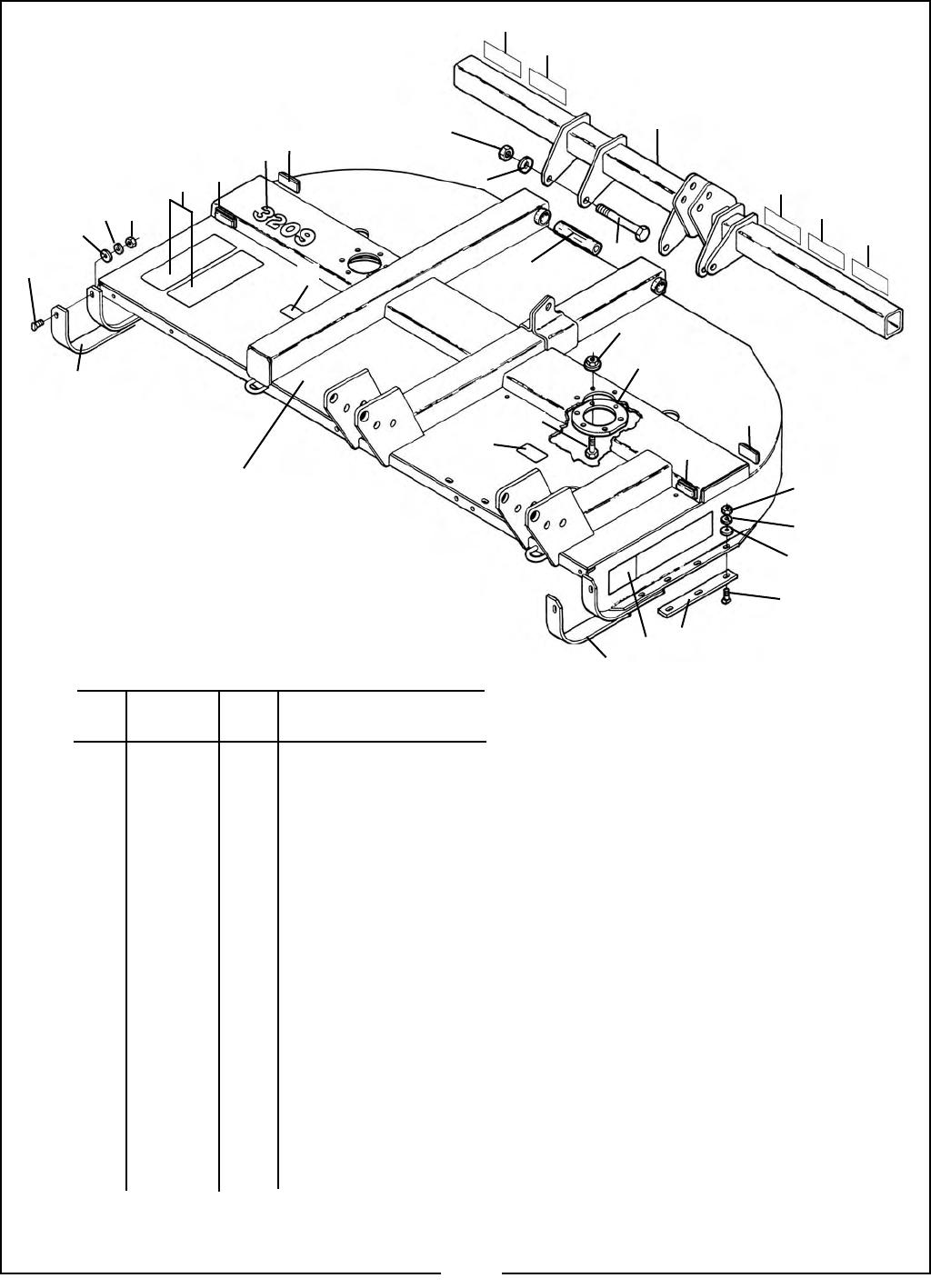 3210 Offset Bhrotary Cutter3200series Pm 11 Bush Hog Schematics Land Maintenance Repair Parts Manual