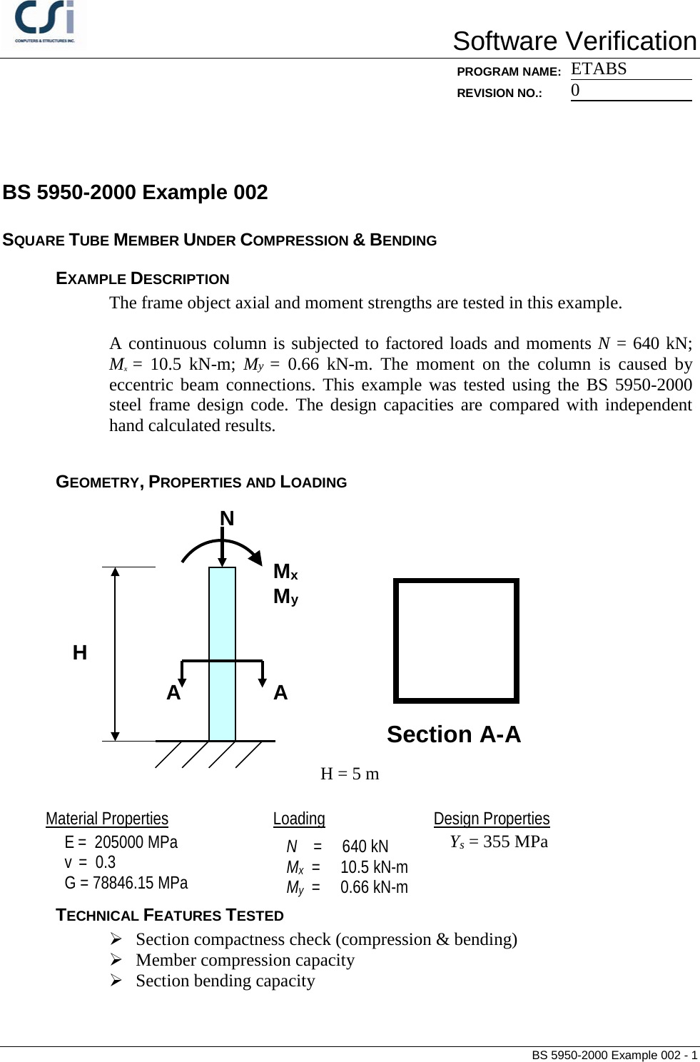 Contents Bs 5950 2000 Example 002 Frame Bending Moment Diagram