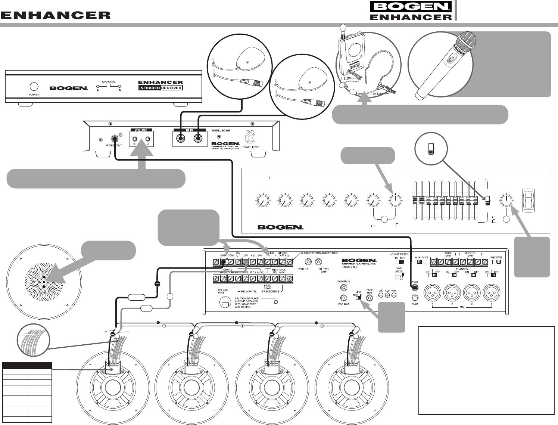 ramsey wiring diagram 54 7891 02e bogen enhancer esysx m  systems wiring diagrams ramsey rep 8000 wiring diagram 54 7891 02e bogen enhancer esysx m