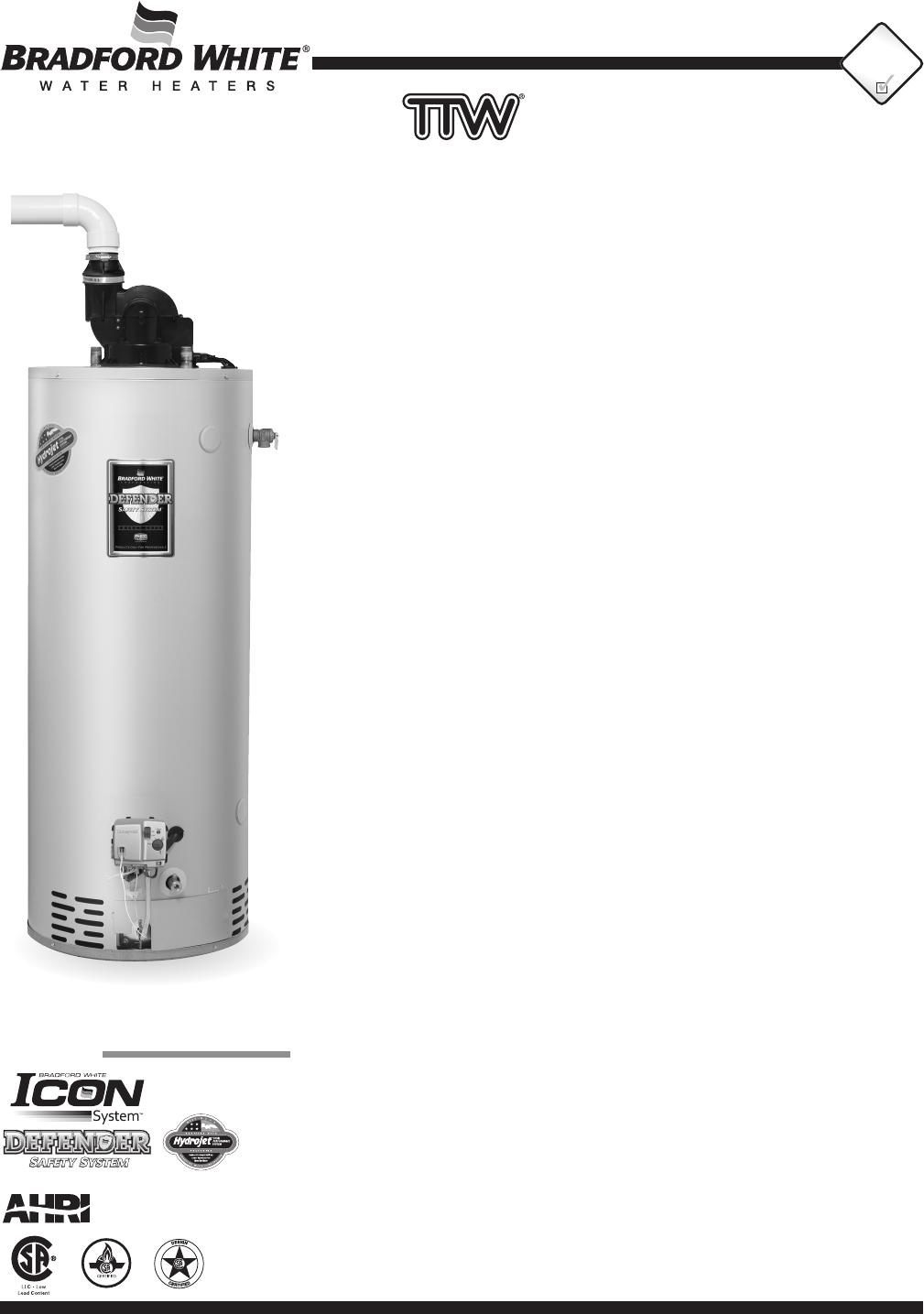 Bradford White Water Heaters >> Print Bradford White Water Heater 26