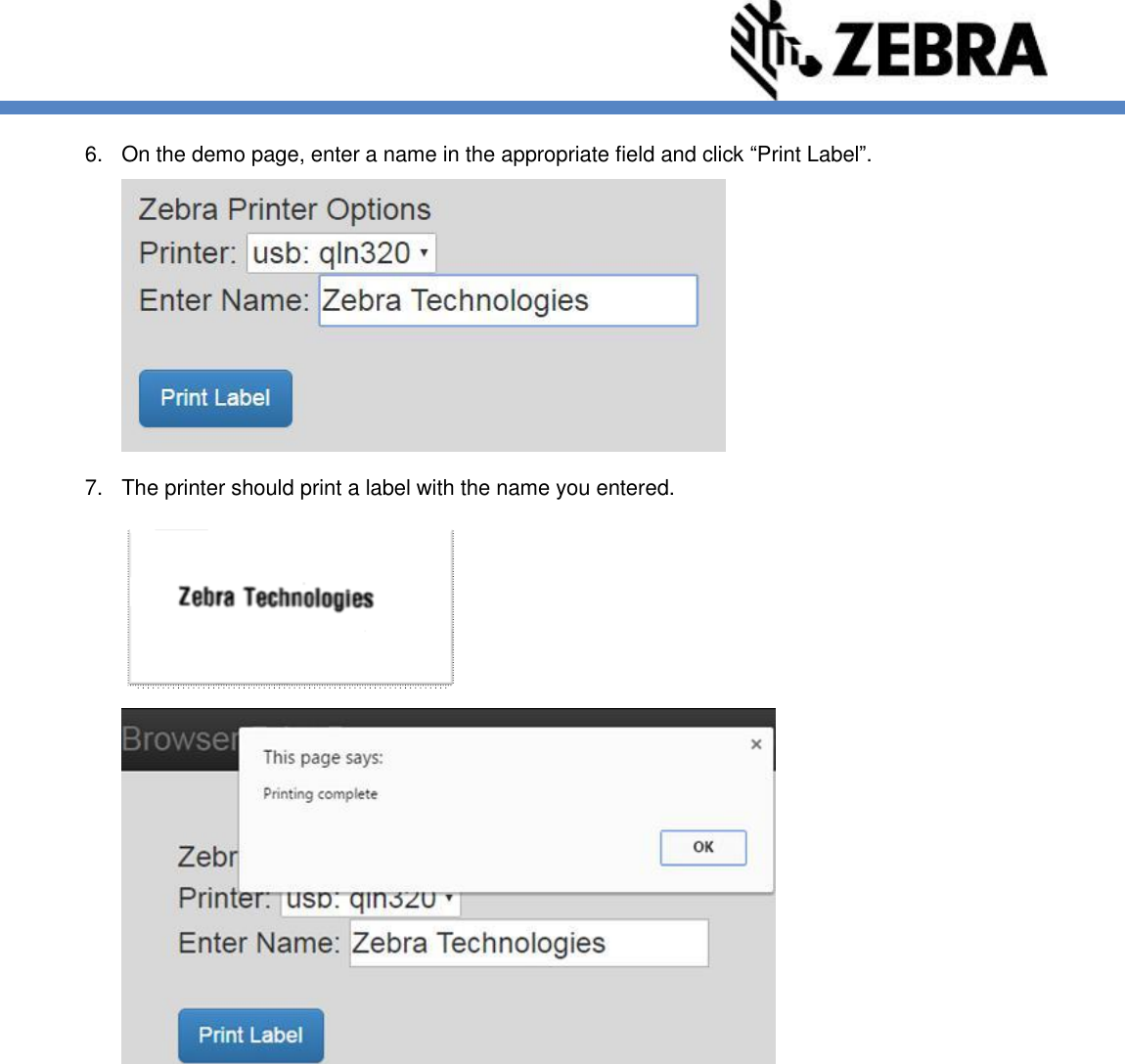 Browser Print User Guide