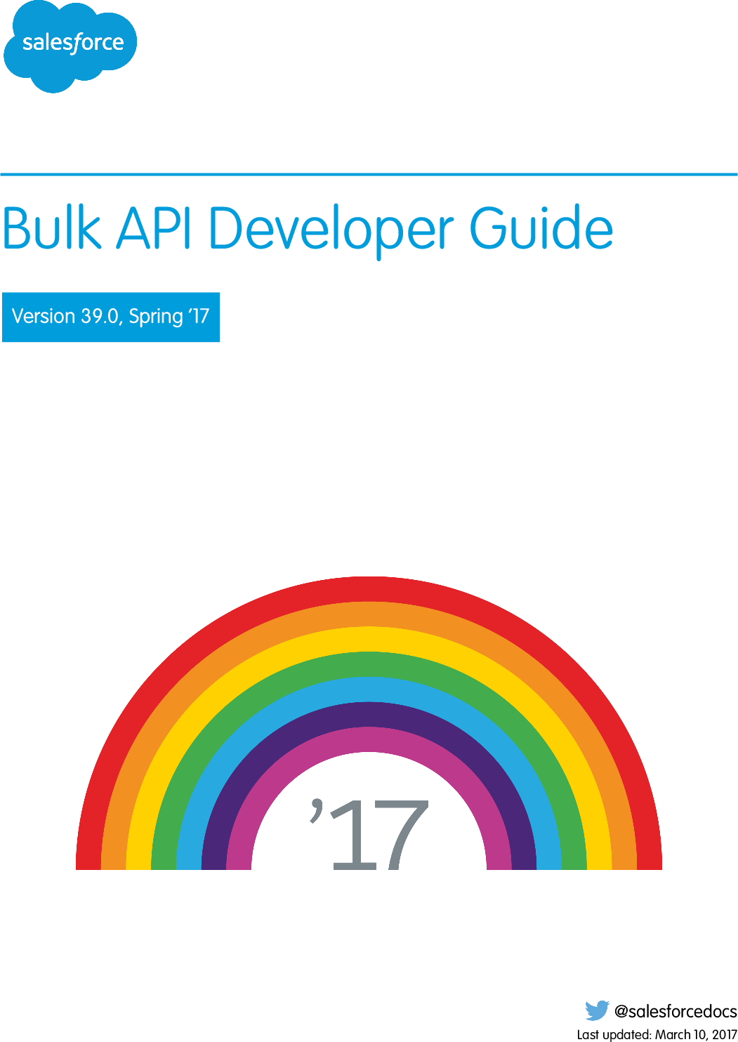 Bulk API Developer Guide