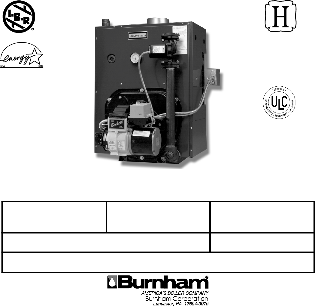 V7 Copy Hydronics C4 Burnham Oil Boiler Installation Manual