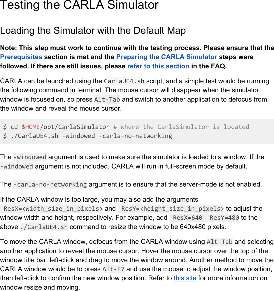 CARLA Setup Guide Ubuntu