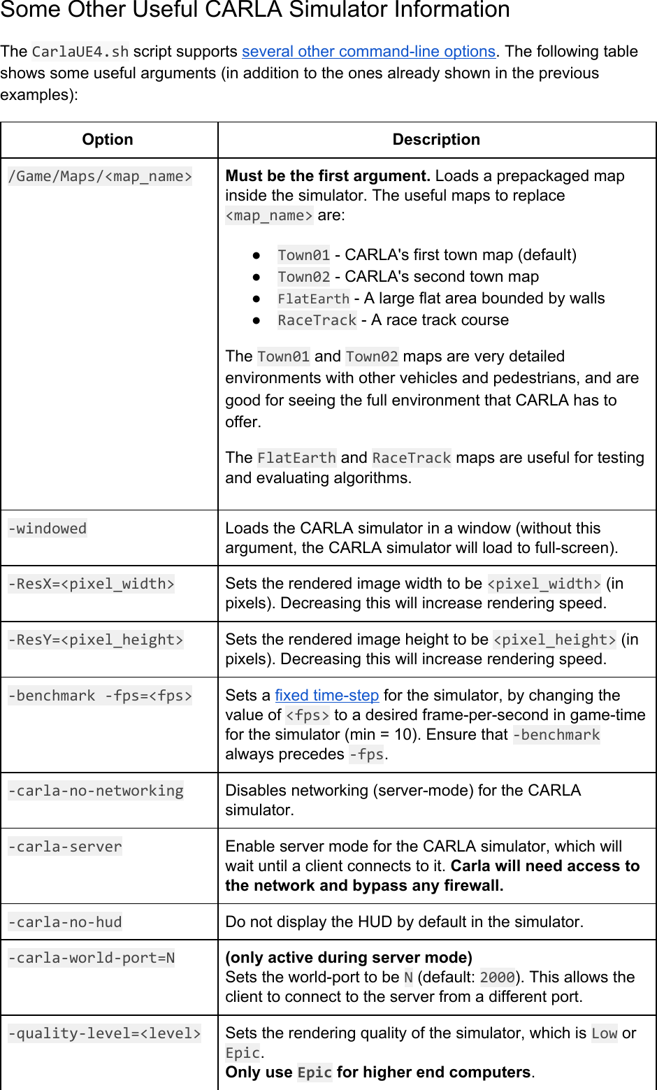 CARLA Setup Guide Windows X64
