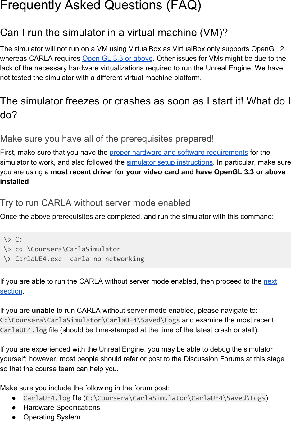 CARLA Setup Guide Windows X64