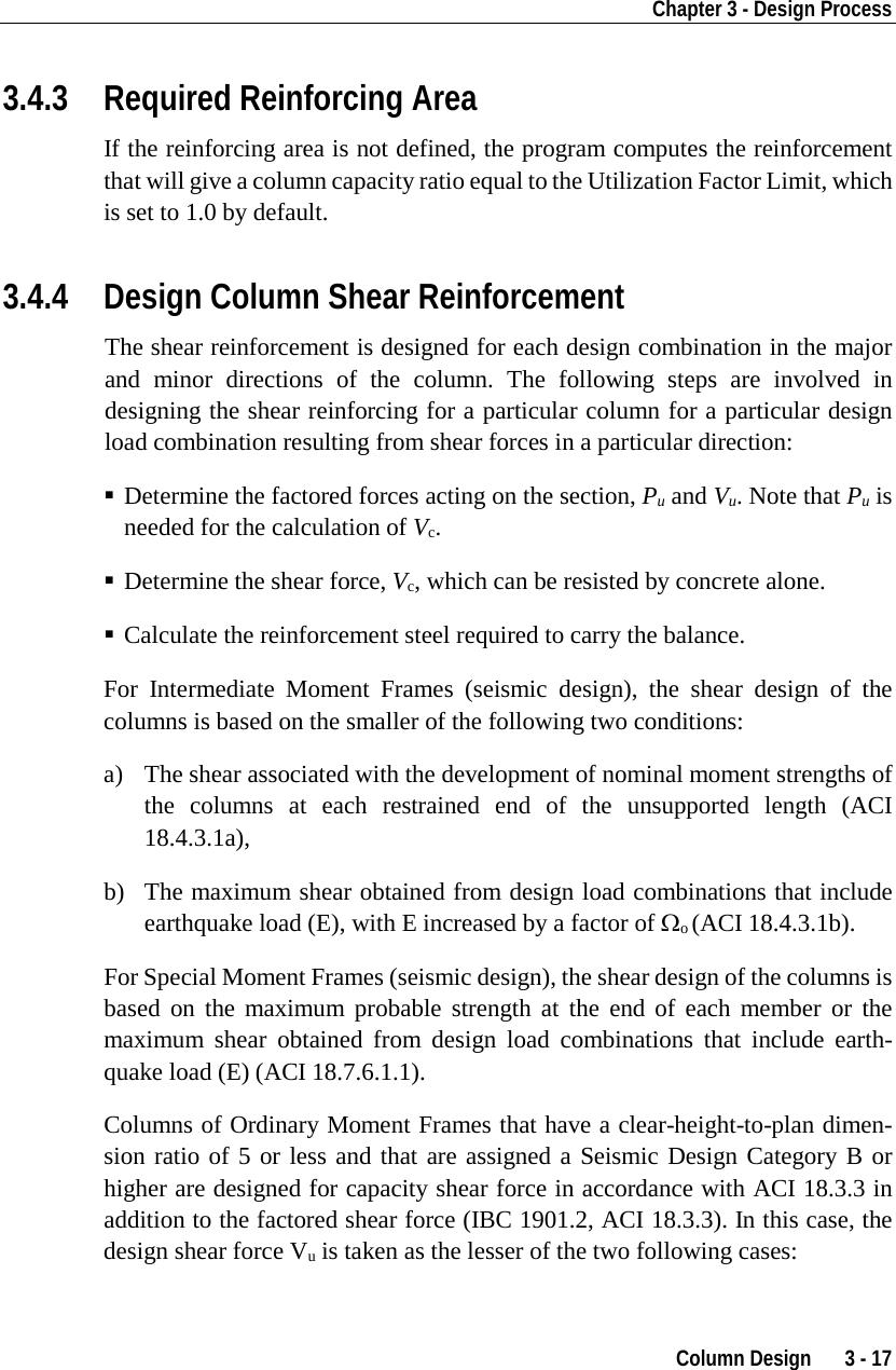 Column Load Calculator