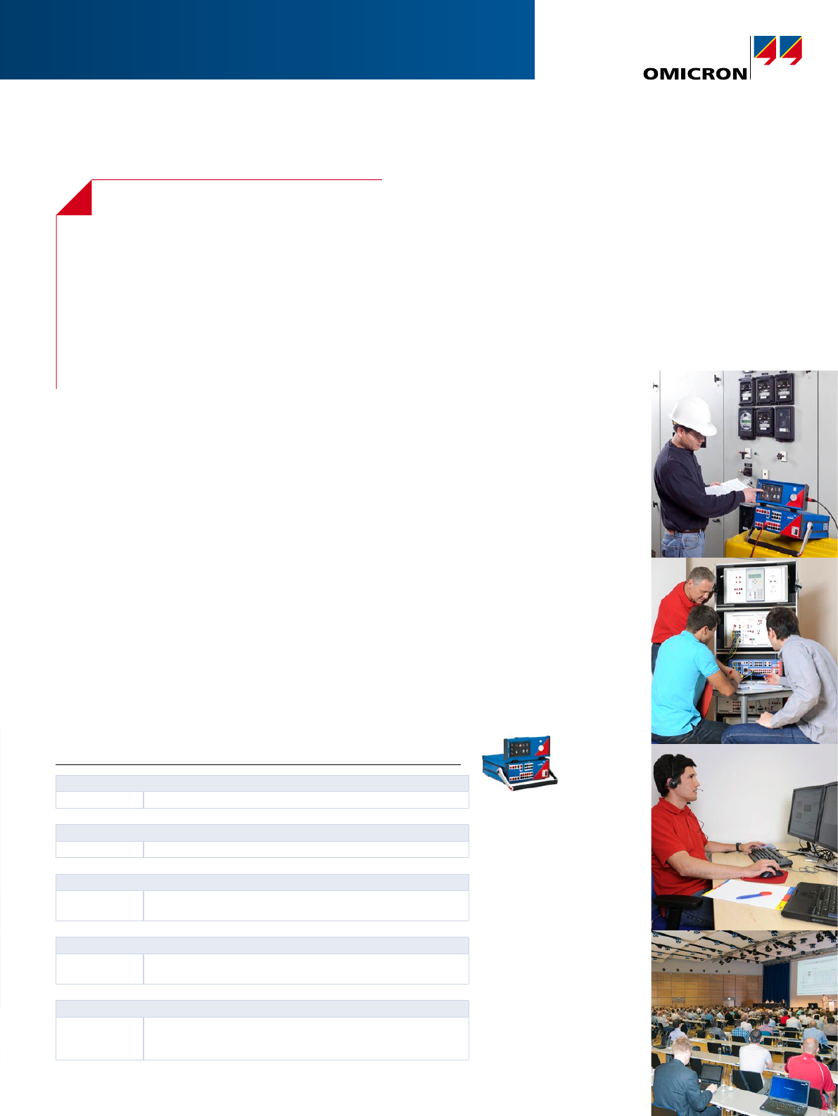 CMC 310 Brochure Manual ENU