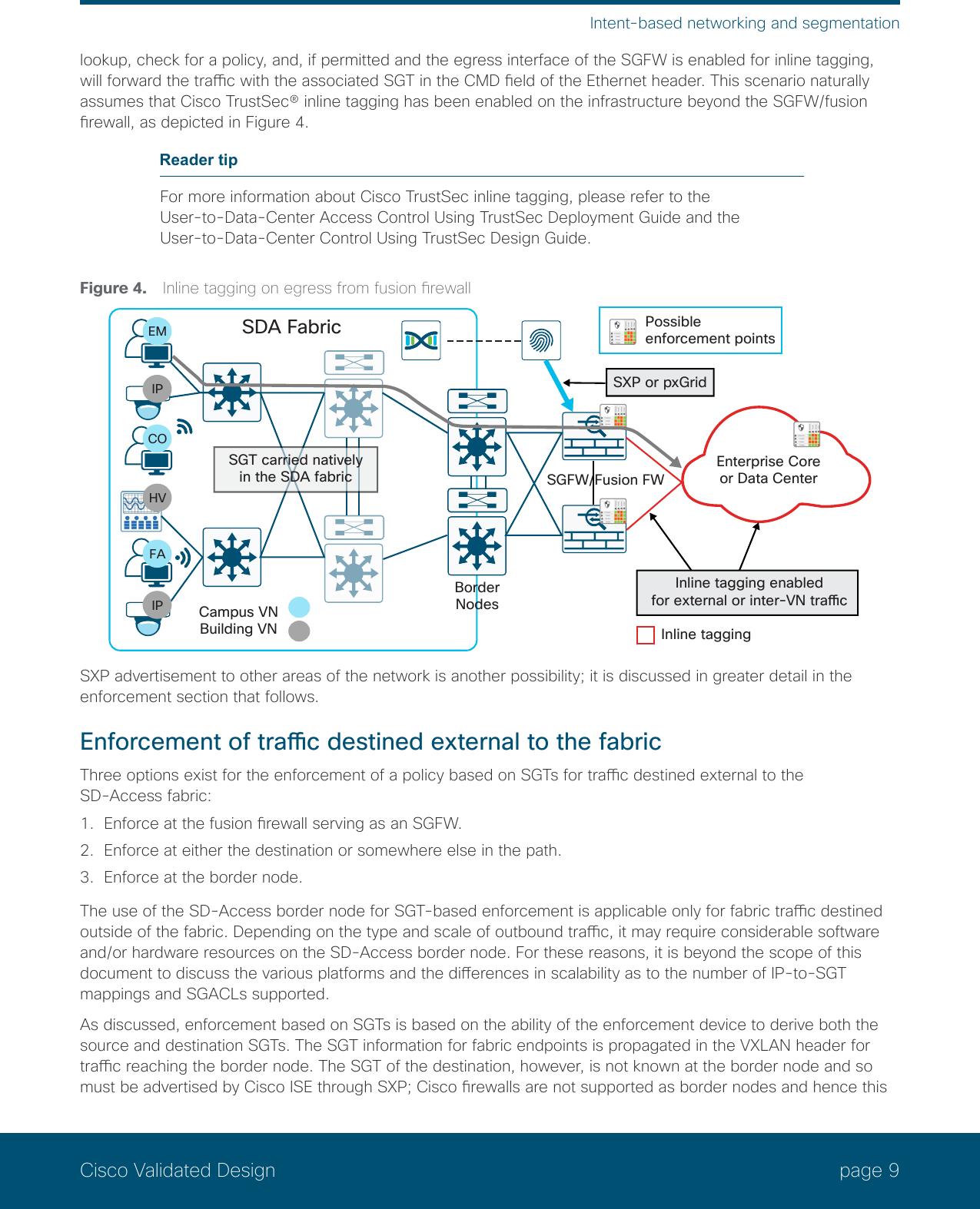 CVD Software Defined Access Segmentation Design Guide May