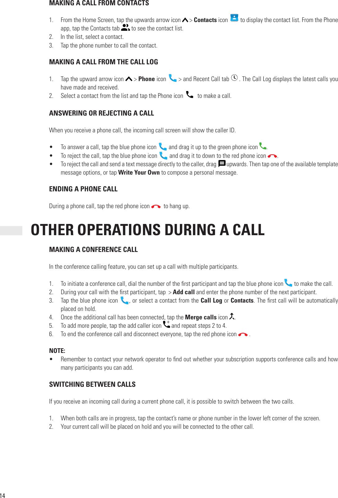 Cat S48c User Manual