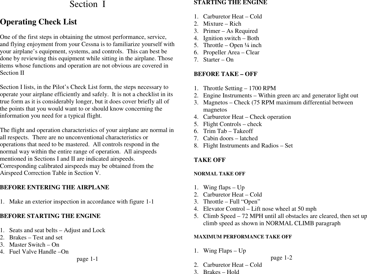 1964 Cessna 150 Patroller Cessna_150_C150D owners_manual retyped