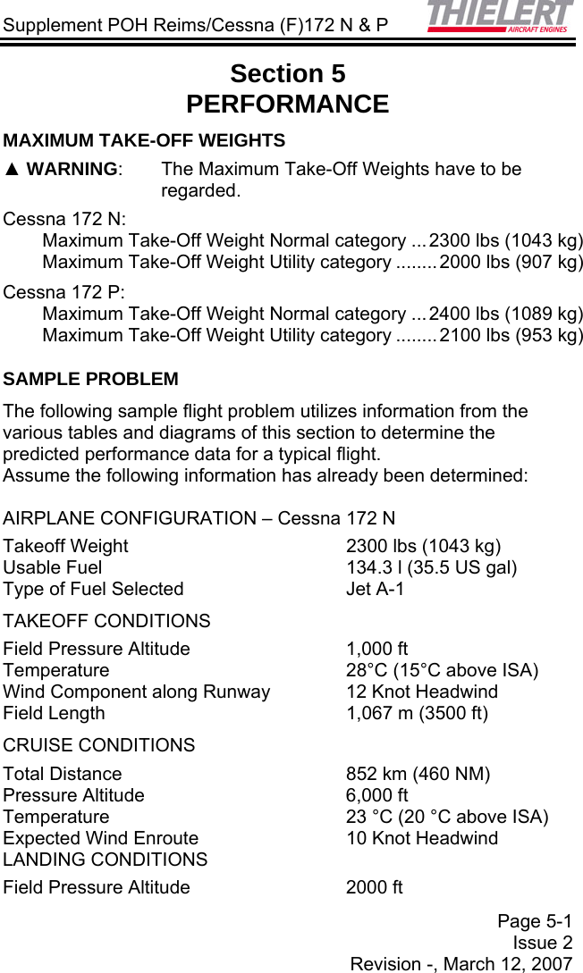 POH C 172N&P FAA 2 0 Cessna_172_C172NP_F172NP POH_Supplement