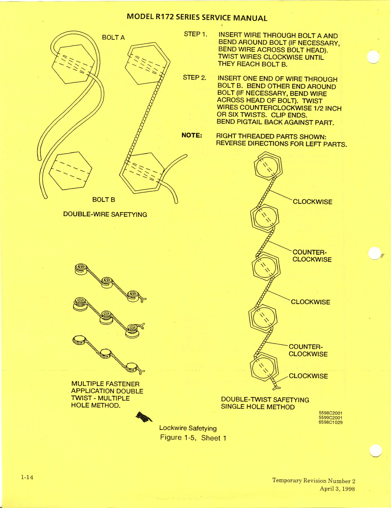 D2027 1 13 R172 Series 1977 Thru 1981