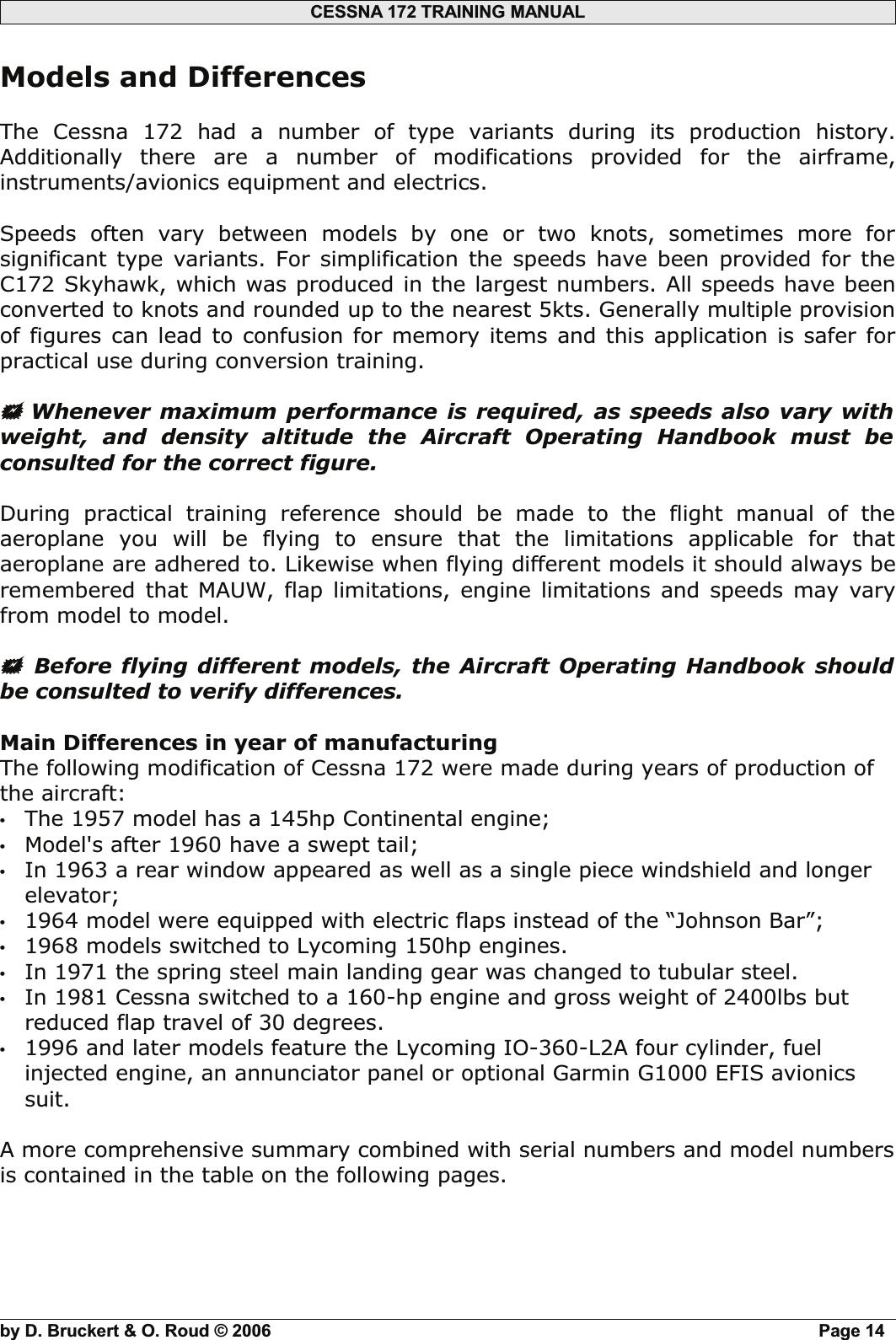 C182 Cessna_C172 History_RSV Training Manuals_2011 Cessna