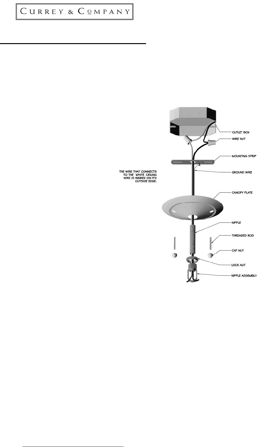 chandelier installation instructions