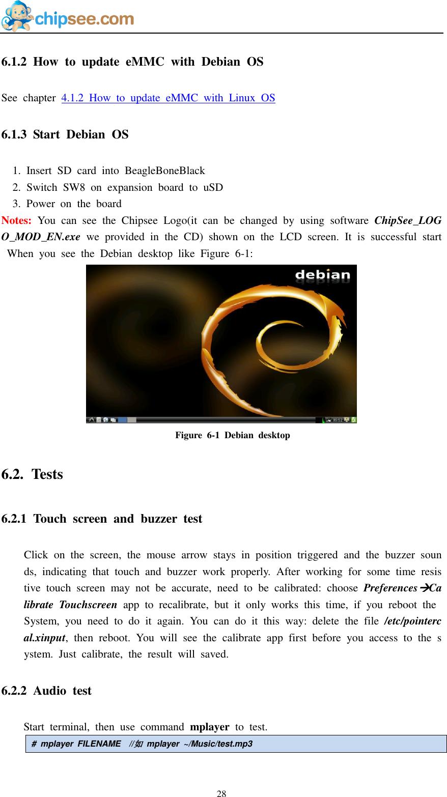Chipsee Beagle Bone Black User Manual V1 0 2