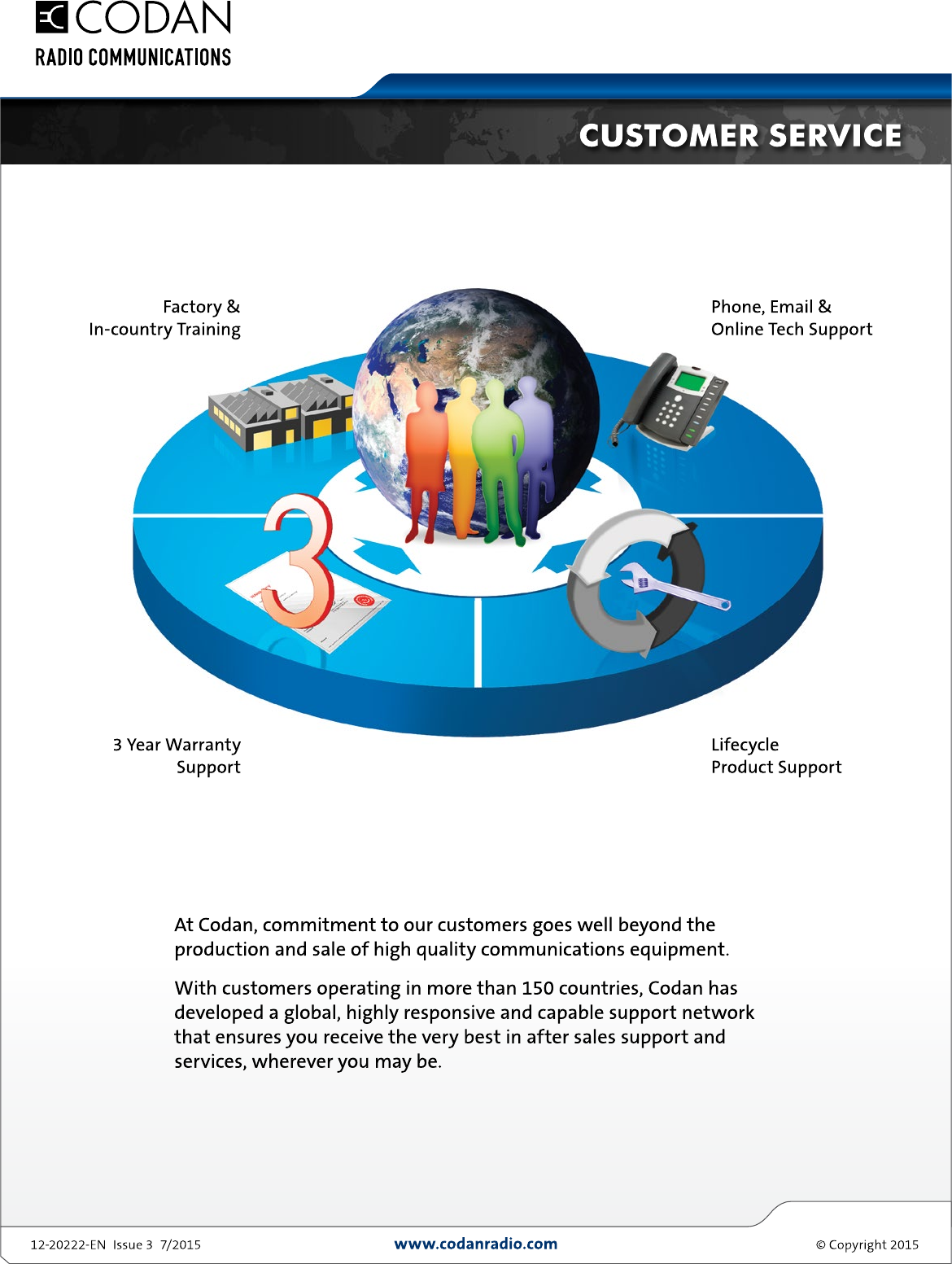 Global support brochure codan radio publicscrutiny Choice Image