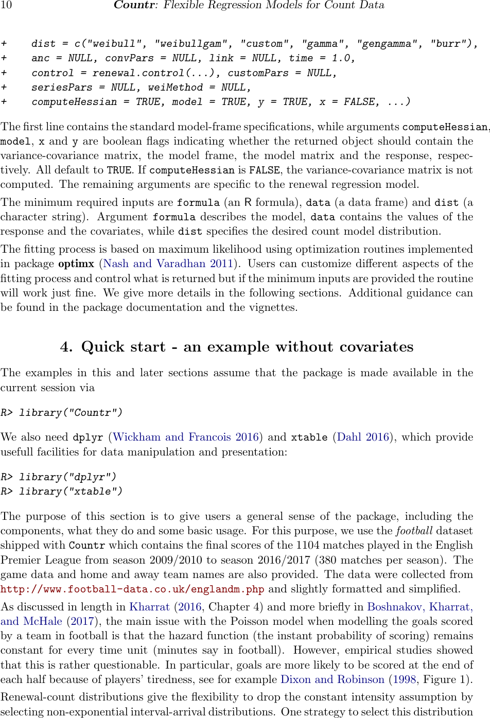 Flexible Regression For Count Data Based On Renewal Processes: The