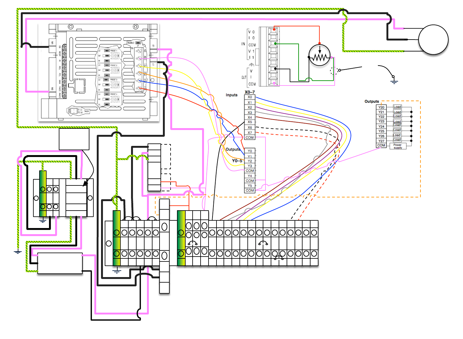 Custom Operator Wiring Diagrams DO Actuator LE_V1.2 LE V1.2 on