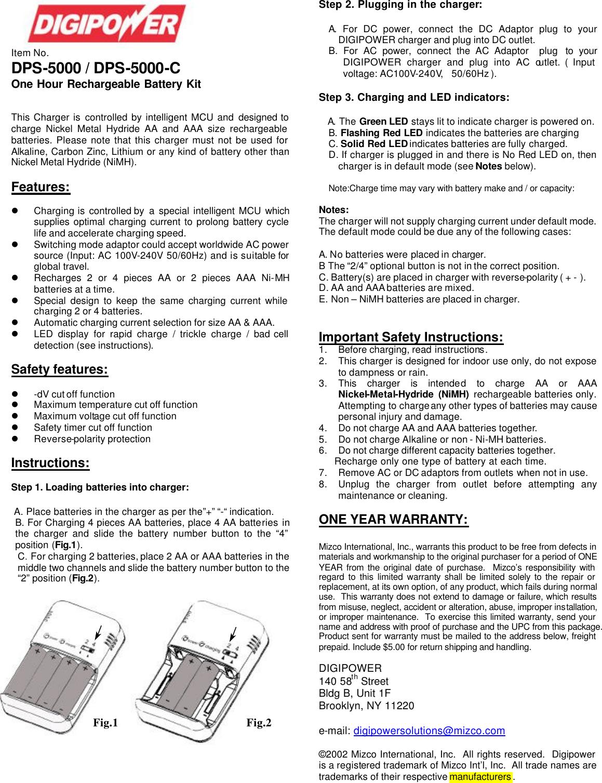 DPS 5000+ Instr Manual 5000