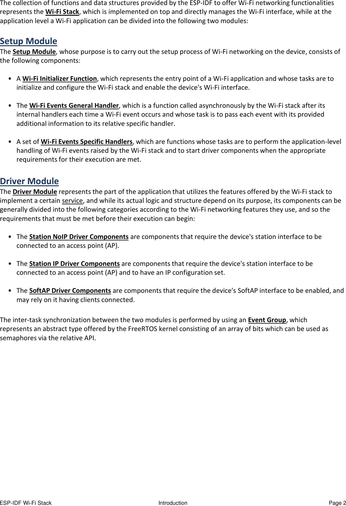 ESP IDF Wi Fi Stack Pratical Guide Practical
