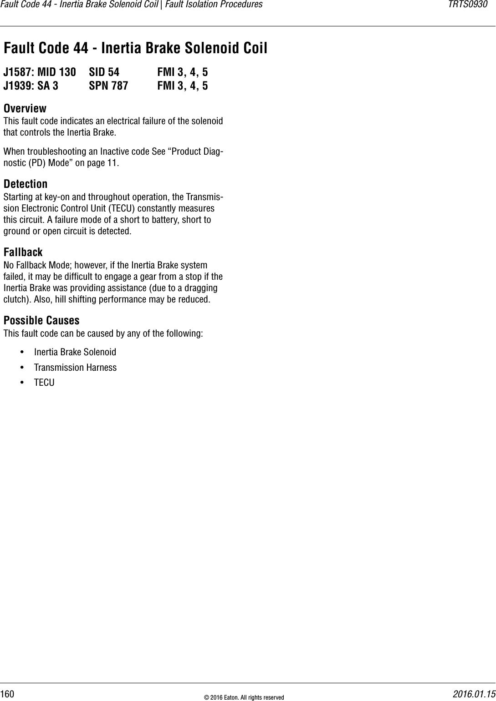 Trts0930 Eaton Gen 3 Autoshift Ultrashift Troubleshooting Guide on