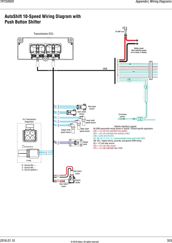 Eaton Auto Trans Wiring Diagrams | Wiring Diagram