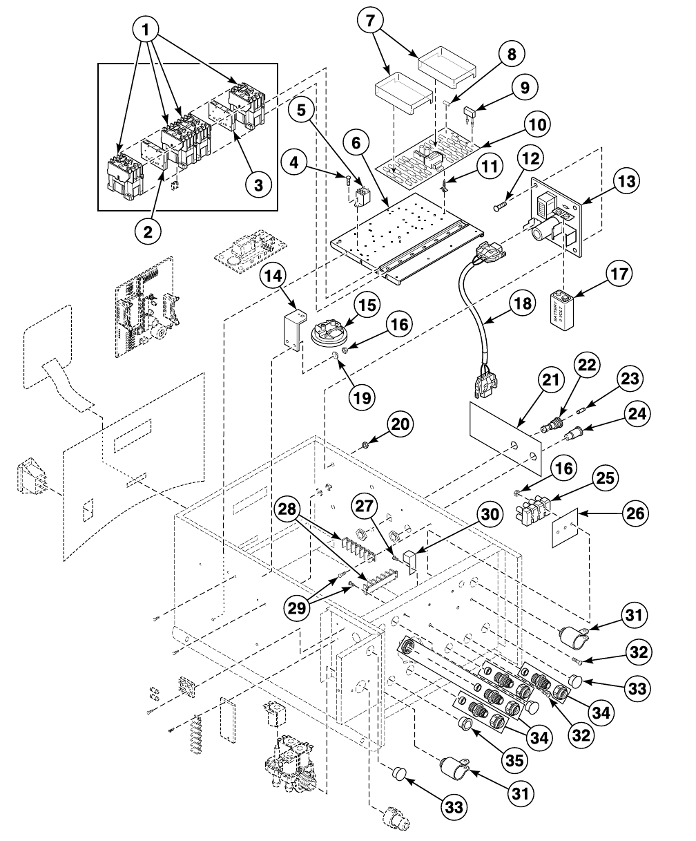 Washer Extractor Parts Manual Uw60m2 F232149 F430 Can Bus Diagram 18