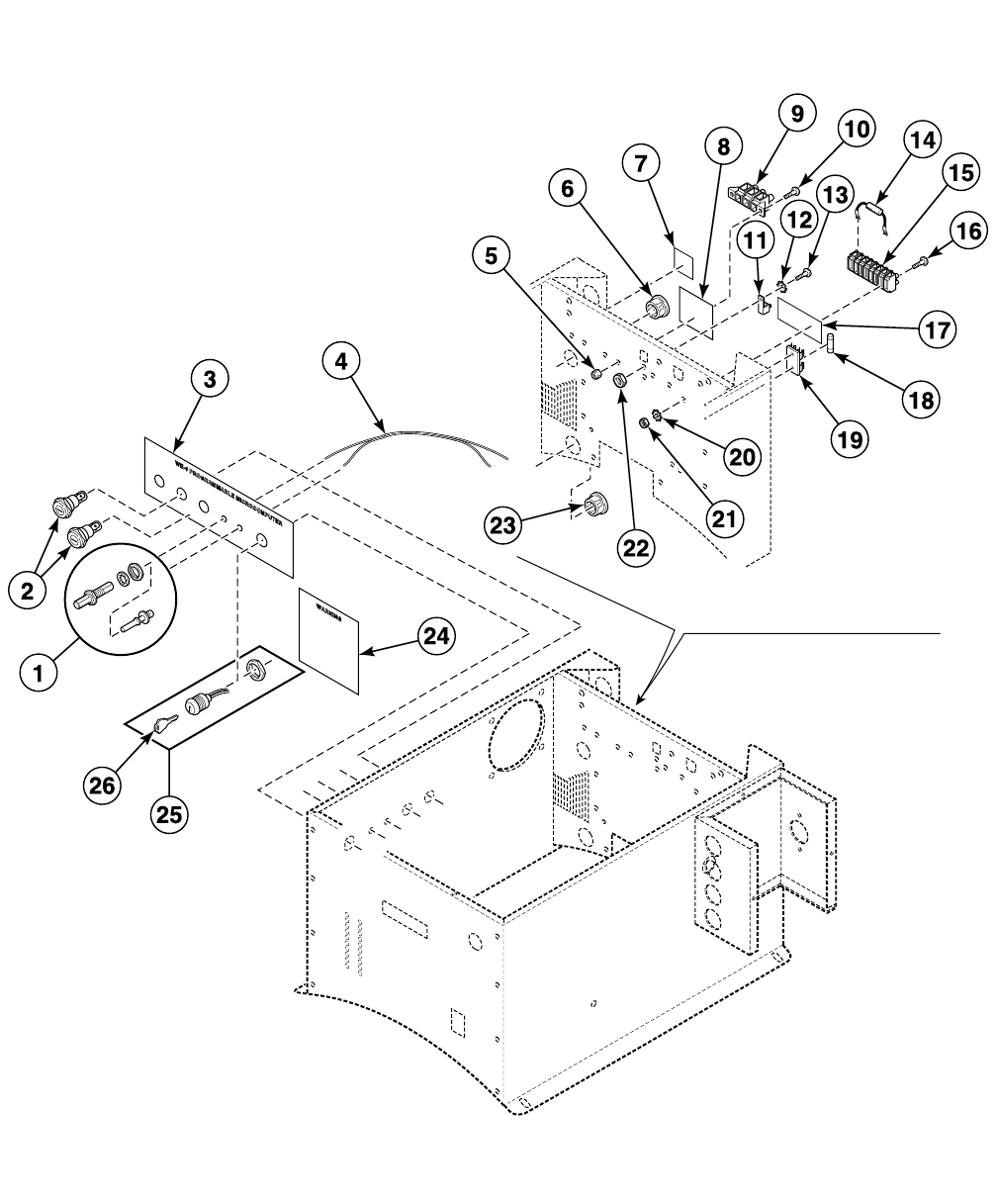 Washer Extractor Parts Manual Uw125av F232184 F430 Can Bus Diagram 14