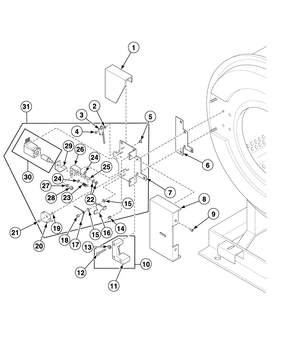 Washer Extractor Parts Manual 30 Pound Capacity F232194 F935 Wiring Diagram Schematic 70