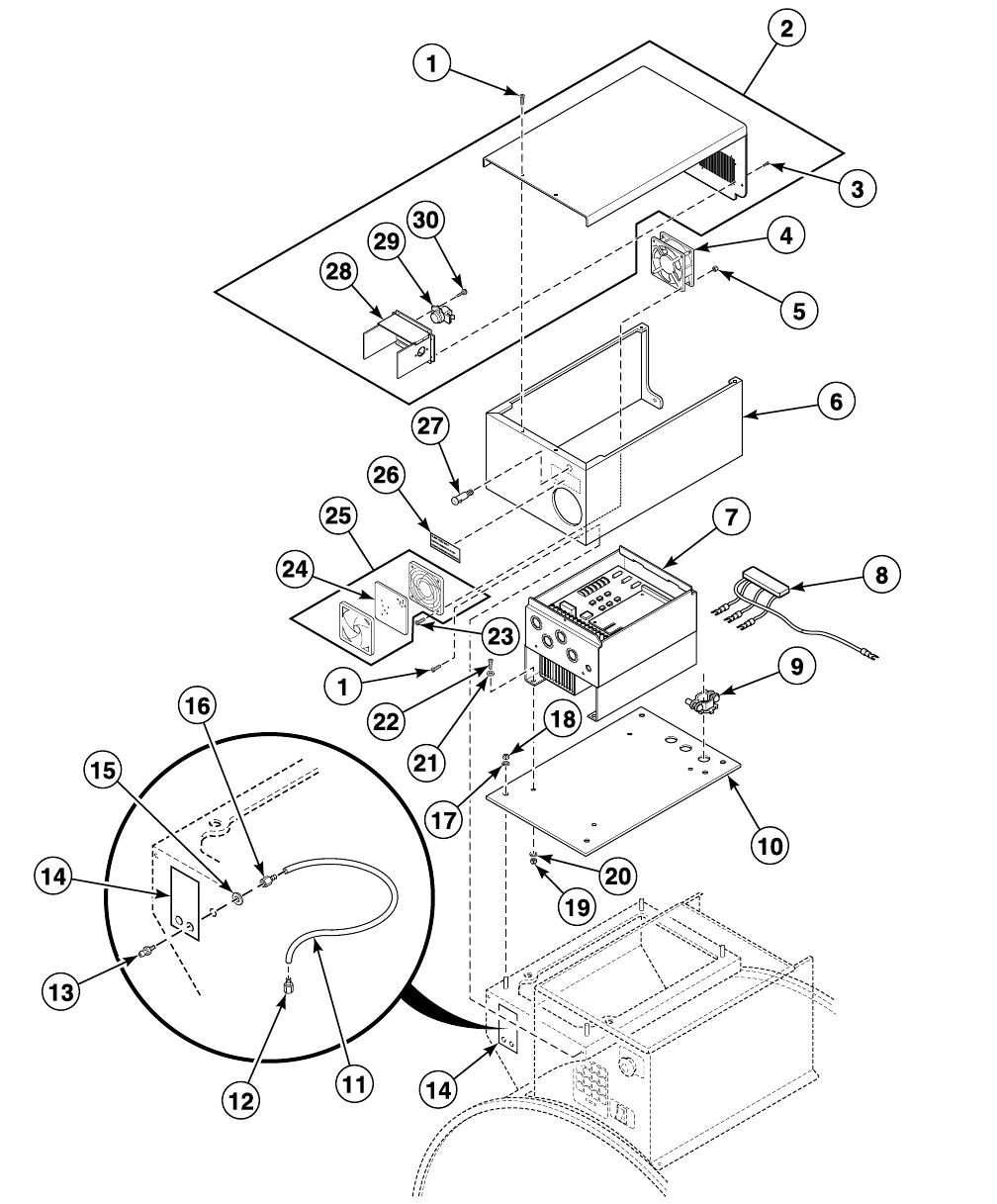 Washer Extractor Parts Manual Uw100av F238015 F430 Can Bus Diagram 28