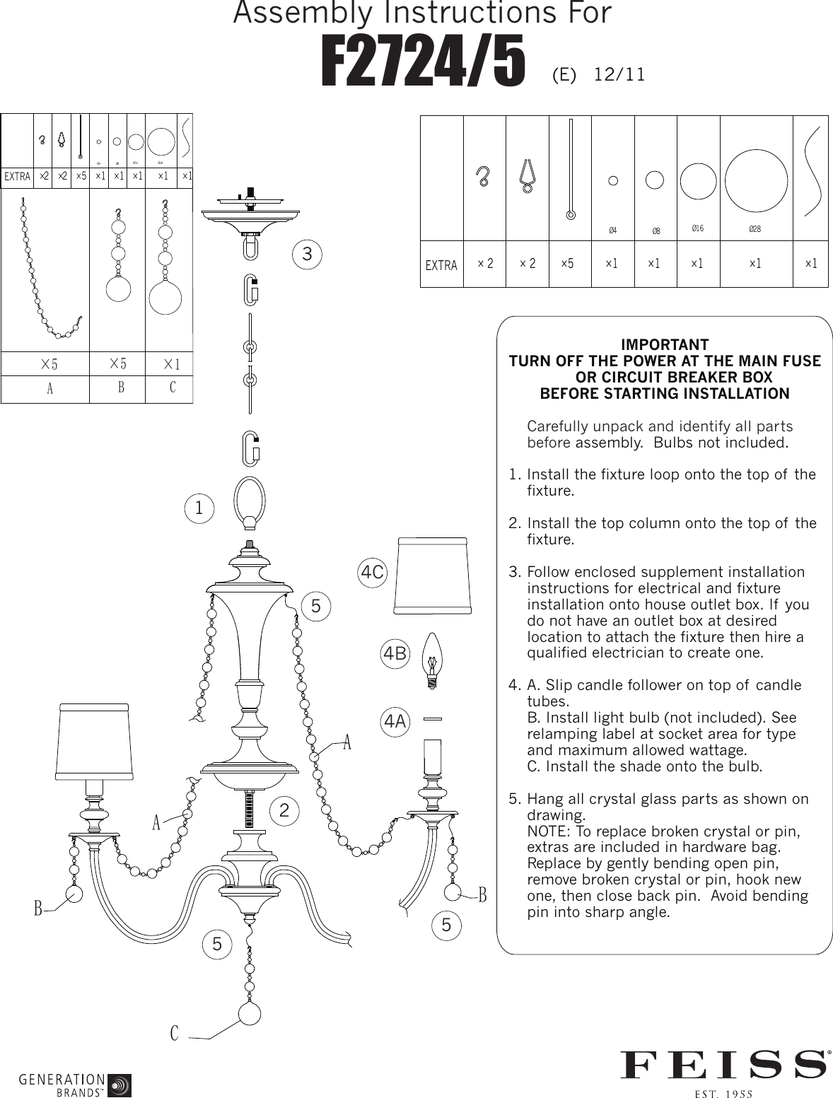 F2724 5 E Wiring A Light Fixture On Loop