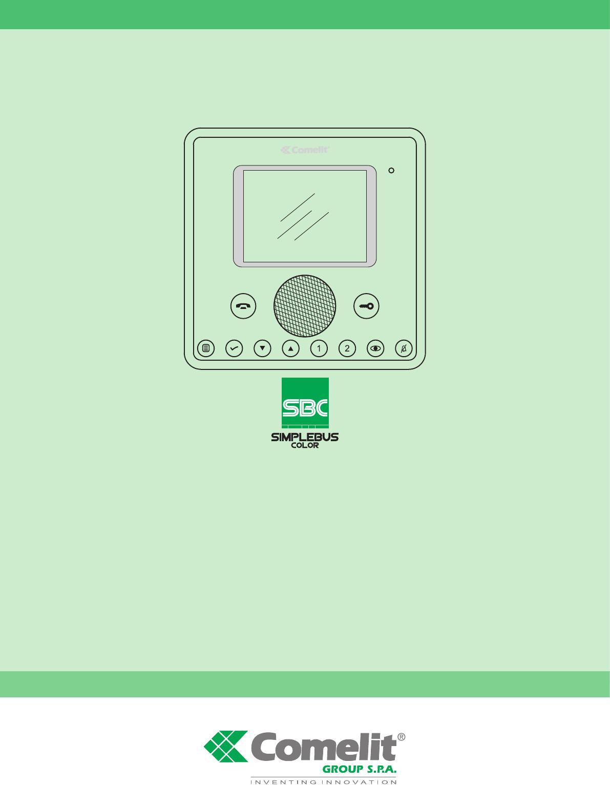 Comelit 4888c Système d/'alimentation pour mélangeur Simplebus Color