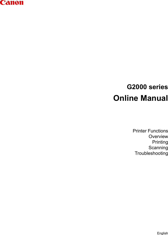 G2000 Series Online Manual G2000ser Win EN V02