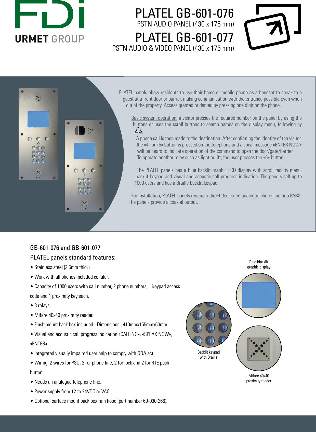Gb 601 076 2 5mm To Handset Wiring Diagram