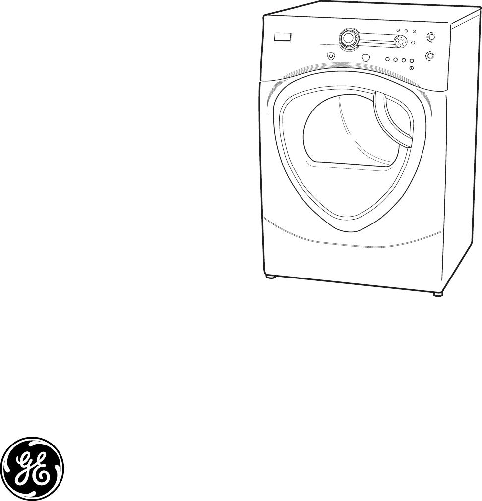 General Electric Clothes Dryer Dpvh890 Ge Profile Dpvh880ej Gj Schematic Service Manual 31 9167