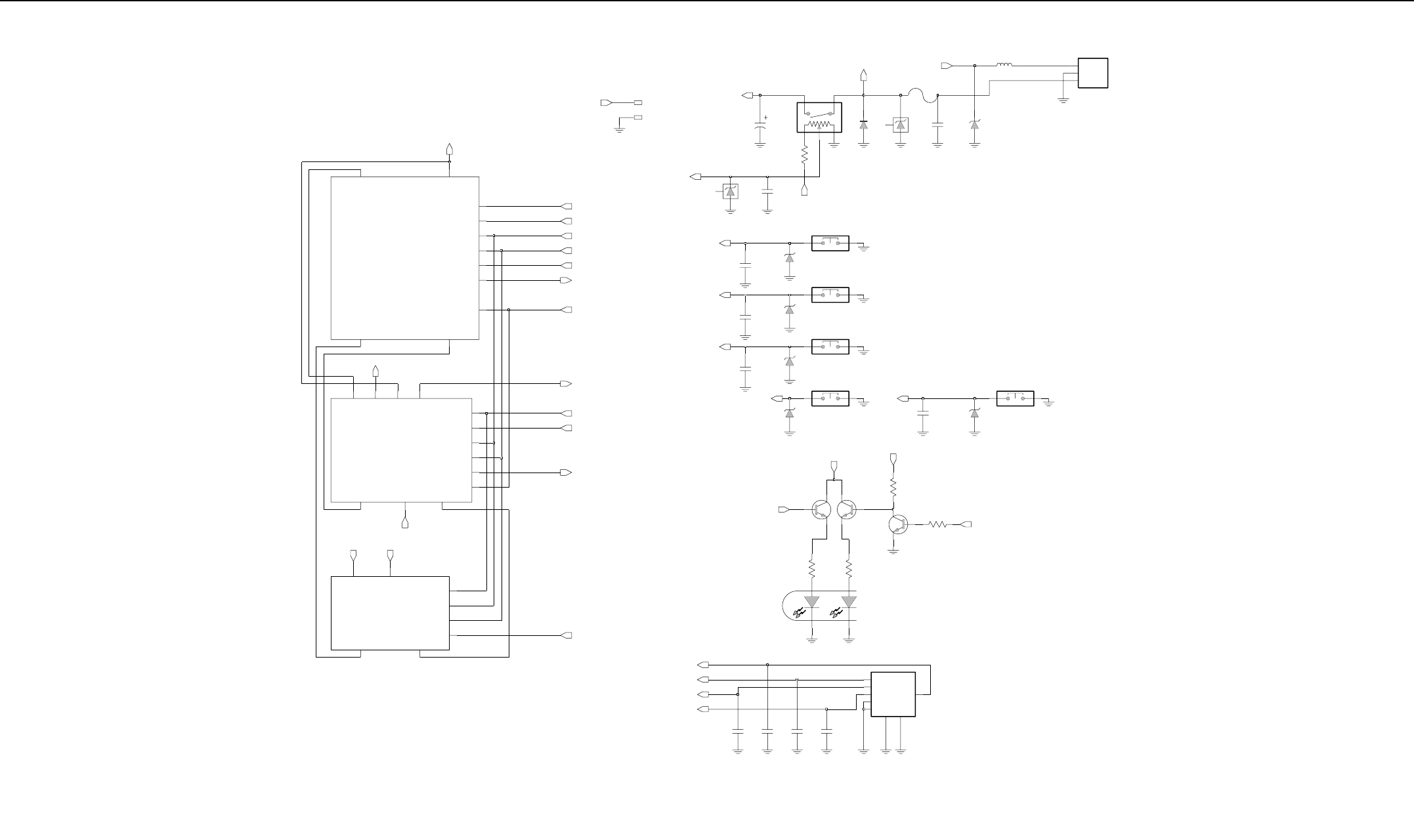 4110j64 Detailedbook Gp Series Gp328 Gp338 Detailed Service Manual F Type Pcb Balun Circuit Diagram Board Schematic Diagrams And Parts List 6a 17