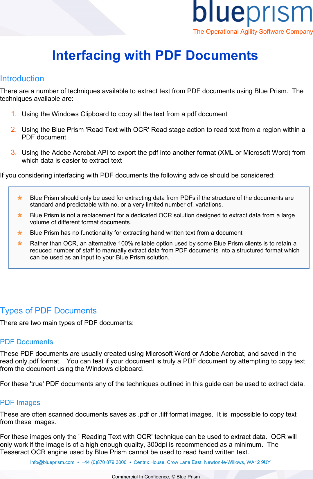 Page 1 of 5 - Guide - Interfacing With PDF S V1.0