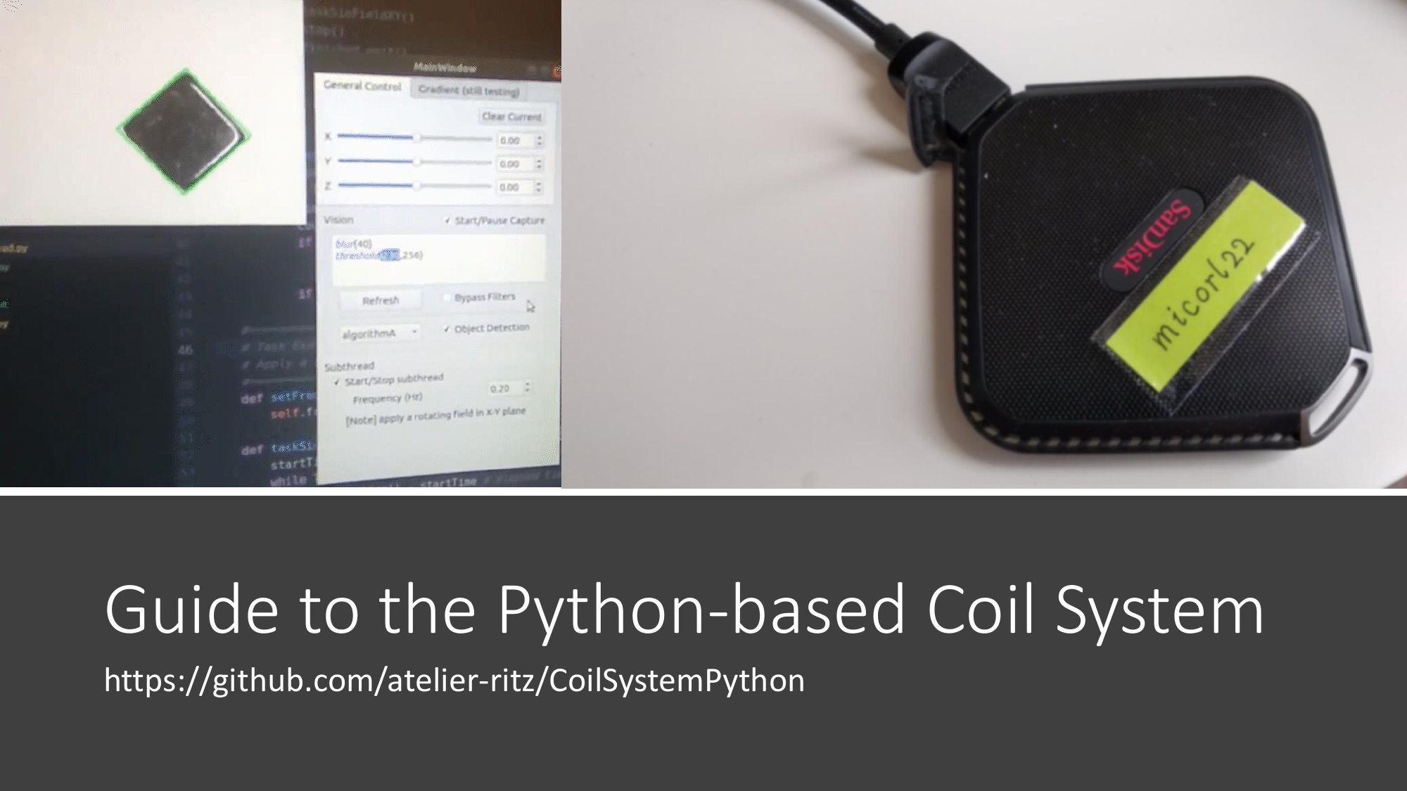 Guide To The Python based Coil System