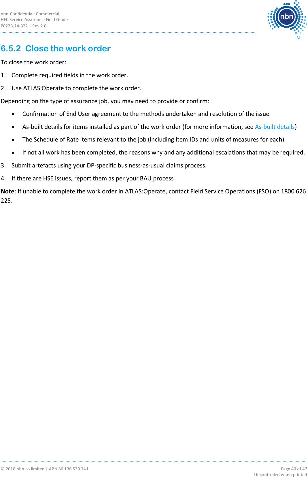 HFC Service Assurance Field Guide