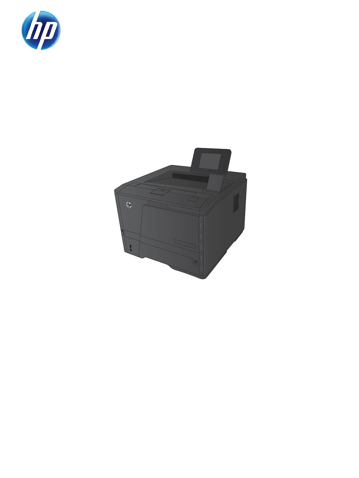 Hp Laserjet Pro 400 M401 Printer Series Repair Manual Enww