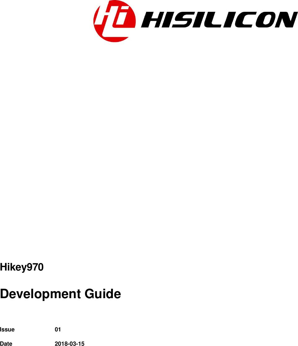 Hi Key970 Development Guide