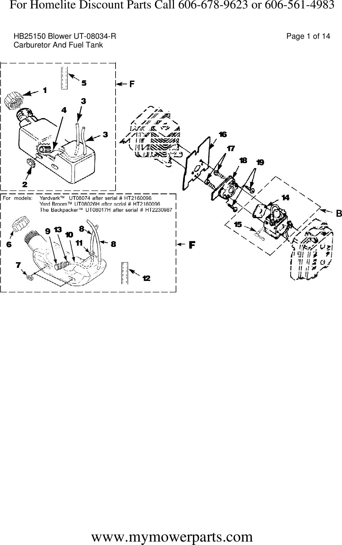 Homelite Fuel Line Diagram