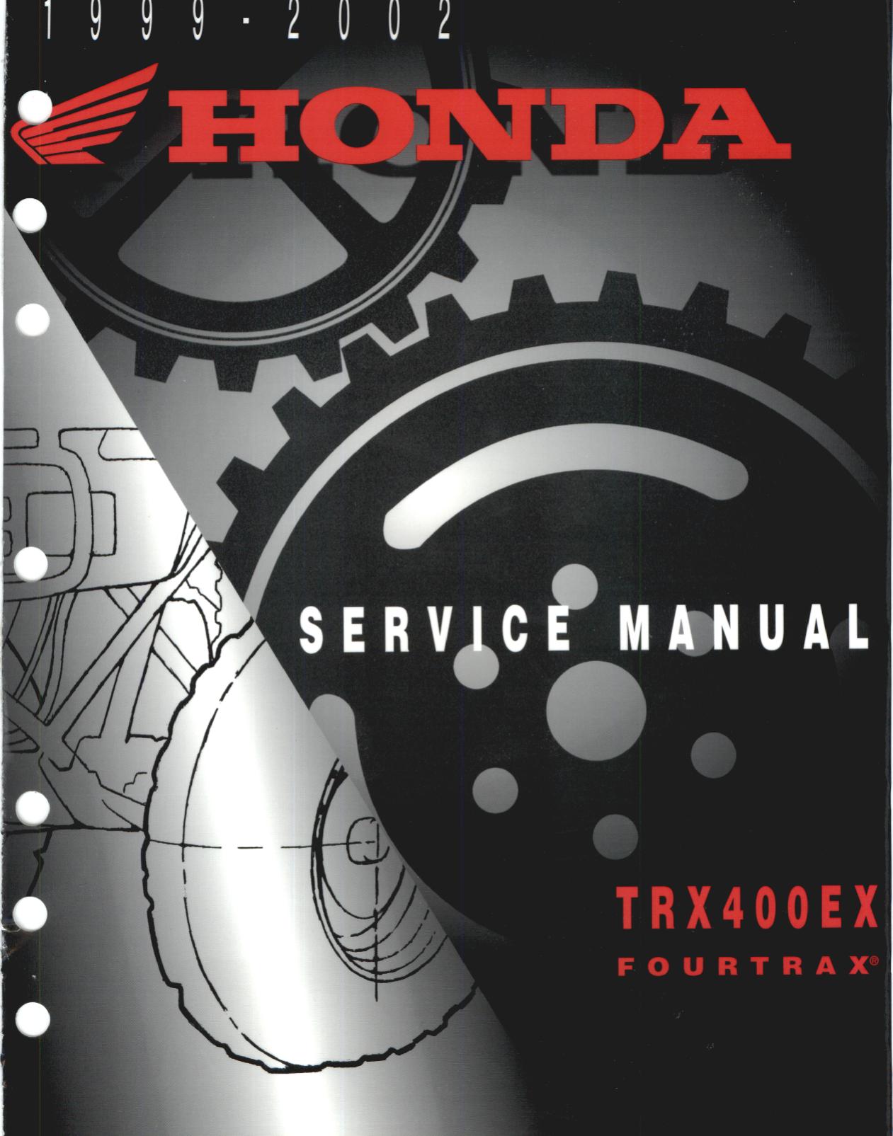 Honda 400ex on