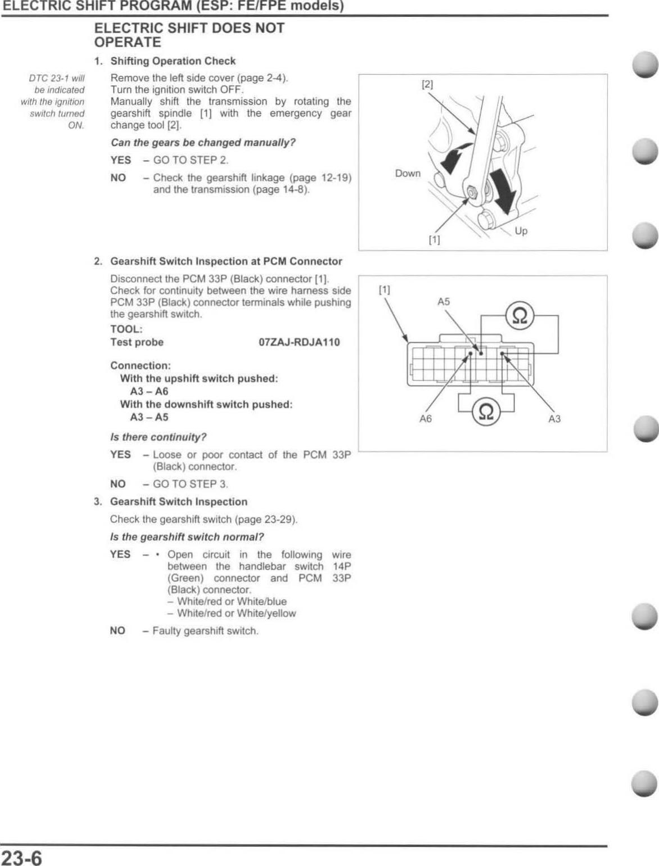Honda Foreman 500 Service Manual 2012 Trx500
