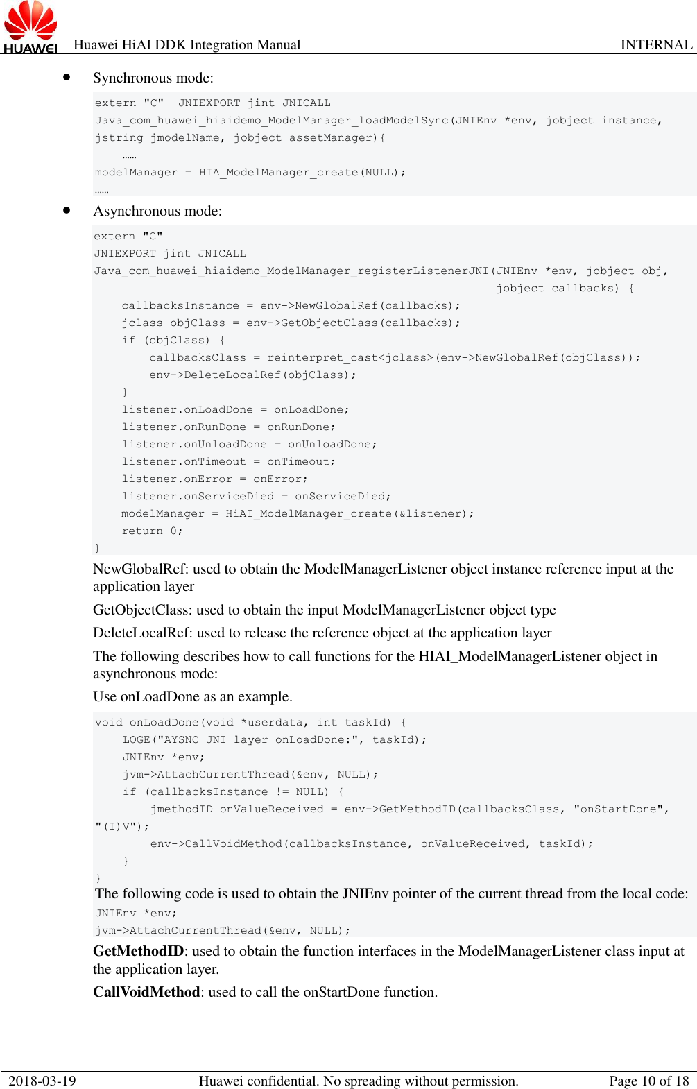 Huawei Hi AI DDK Integration Manual