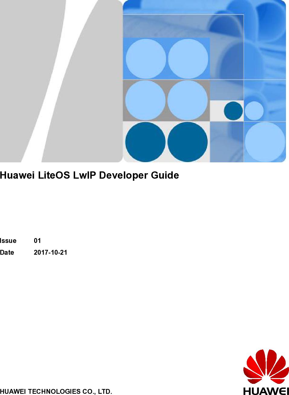 Huawei Lite OS Lw IP Developer Guide