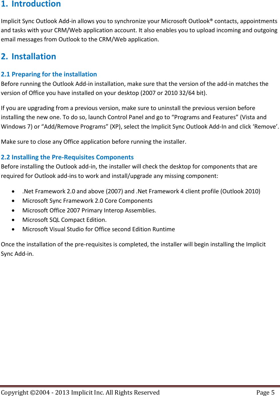 Implicit Sync Enterprise Edition User Guide Version 2 6 1 Rev 3