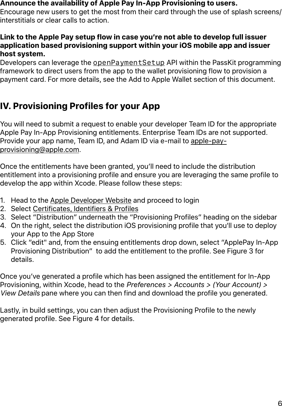 In App Provisioning Getting Started Guide V1 23