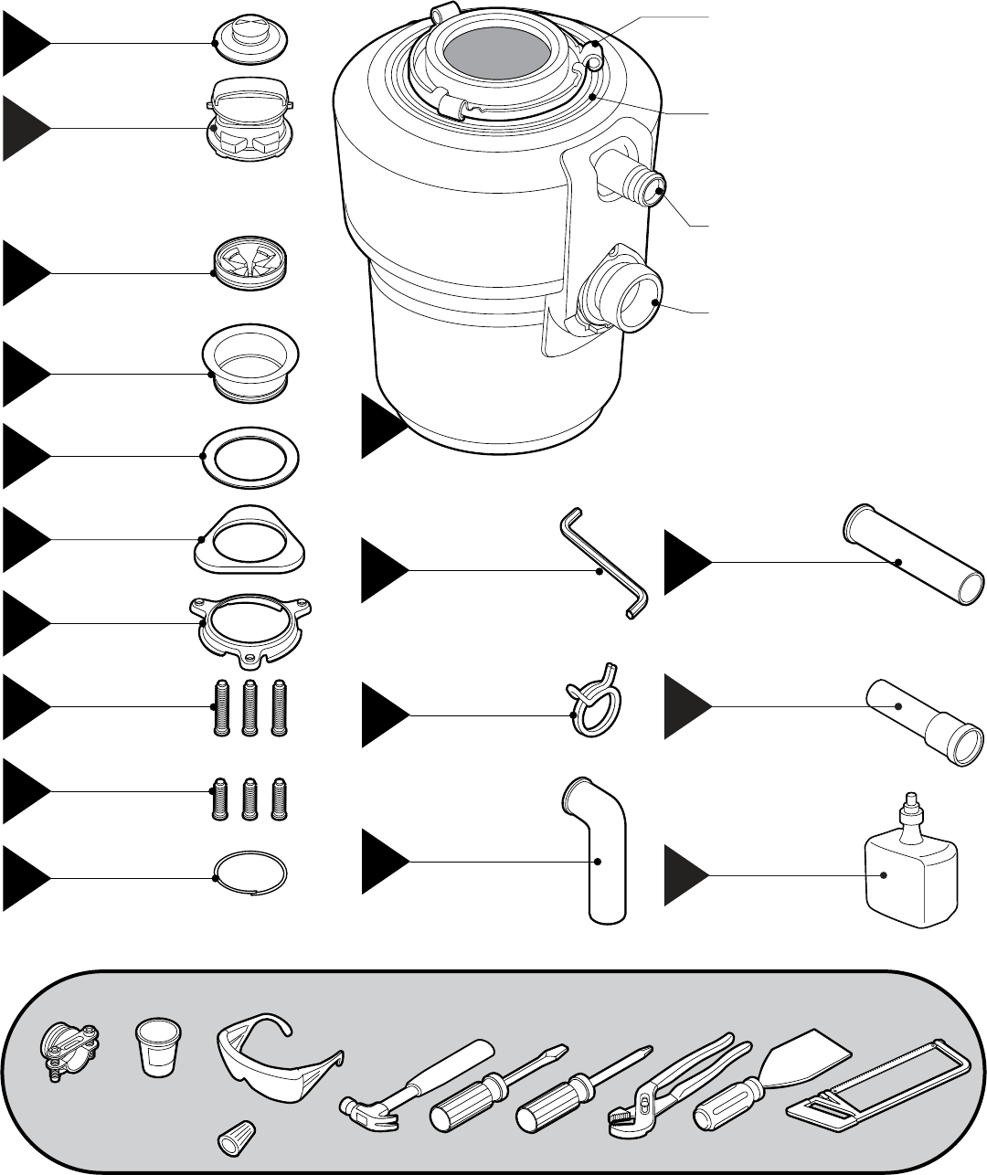 InSinkErator   Evolution Series™ Garbage Disposal Installation Manual